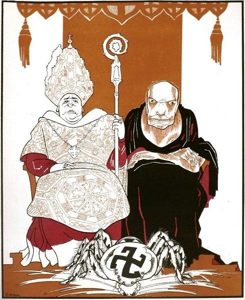 SU.poster.fascism.pope.Папа и мама фашизма.(600).jpg
