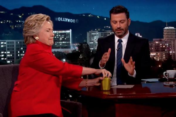 Hillary not having seizure.jpg
