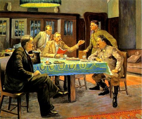 Gorki_Reading_to_Stalin.Viktor_Govorov.1942.jpg