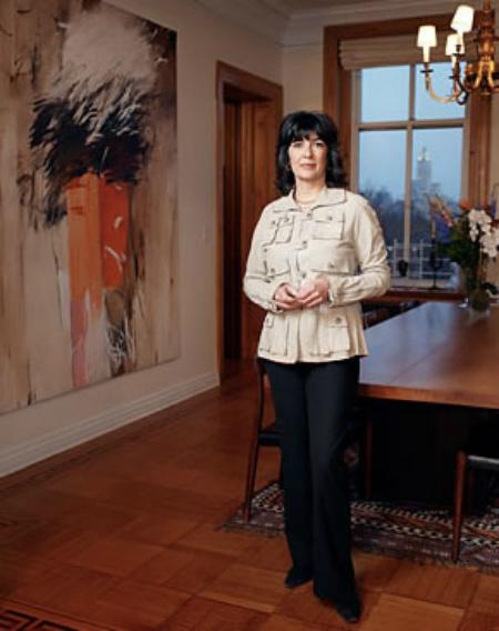 Christiane Amanpour - WTC Burning Painting.jpg
