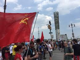 Soviet flag Democrat convention.jpg
