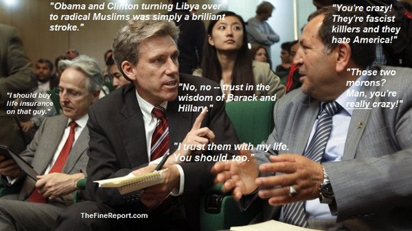 Murdered diplomat Chris Stevens talking edited for cube.jpg