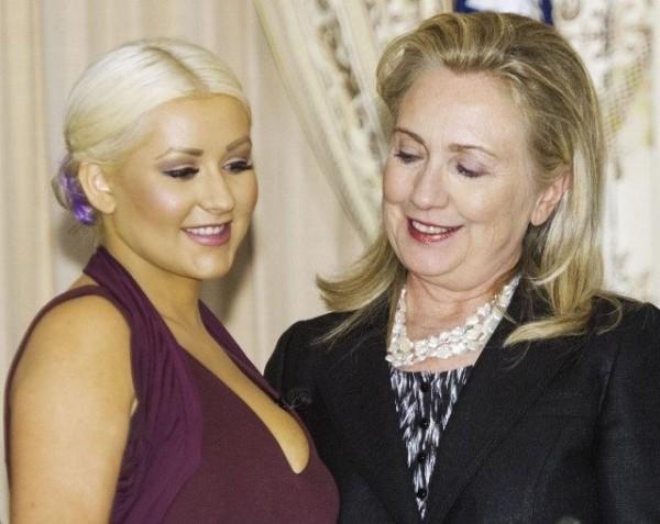 Christina-Aguilera-and-Hillary-Clinton-Paul-J.-Richards-AFP-Getty-640x509.jpg