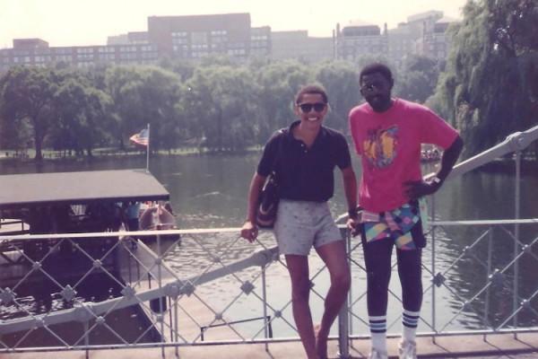 Barack and Malik in Boston in 1990.jpg