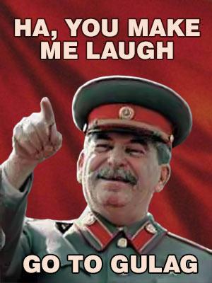 Go to Gulag šialený stalin